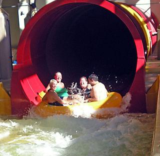 Tornado slide