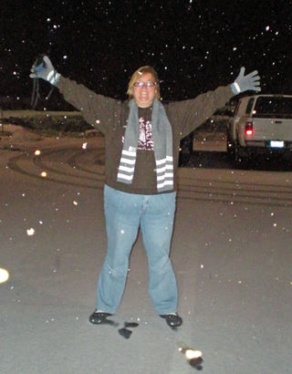 Michelle in Snow