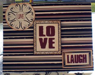 Live love laugh card