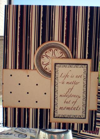 Life matter card