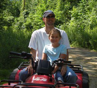 Chuck Rhyan 4 wheeling