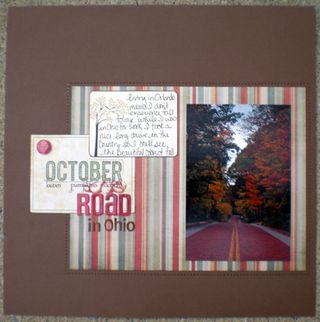 October Road Ohio