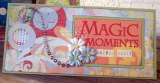 Magic moments card