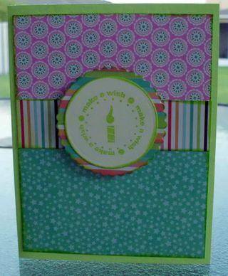 Happy birthday card sei