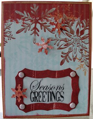 Seasons greeting card