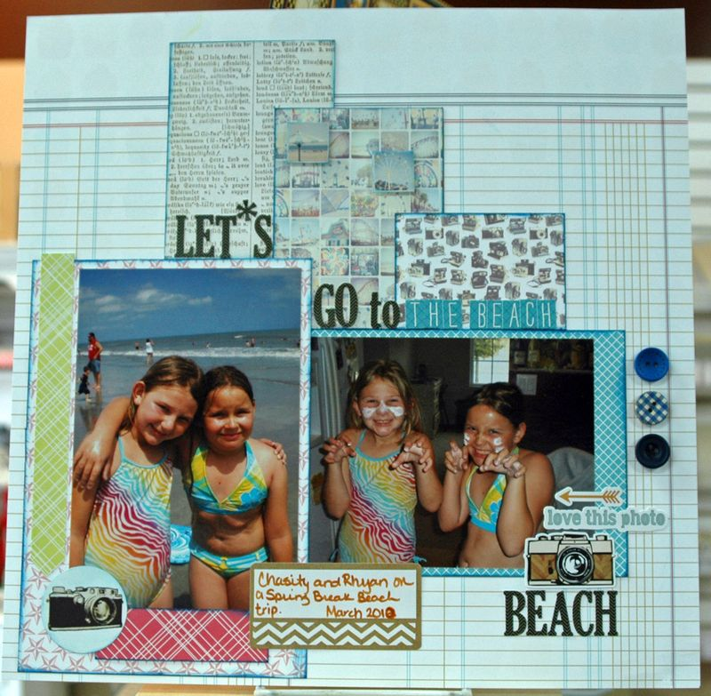 Let's go to the beach beach