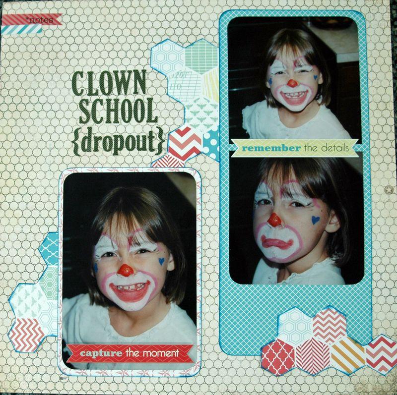 Clown school dropout