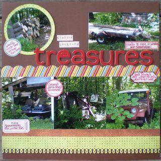 Backyard treasures