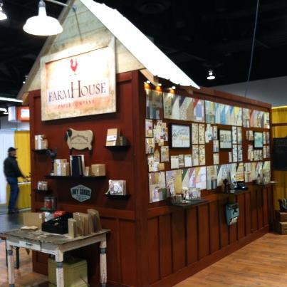 Farmhouse cha booth